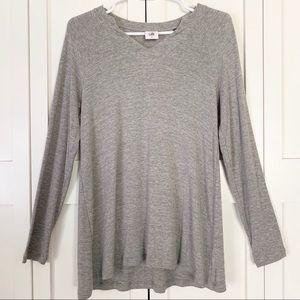 Cabi Grey Long Sleeve Shirt
